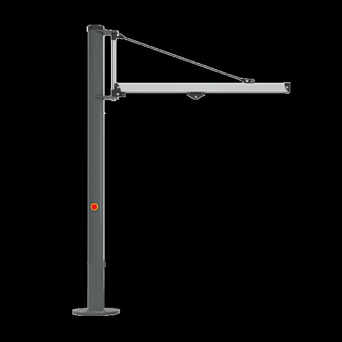 Einzelproduktfoto des Säulenschwenkkrans Unilift Light ULS