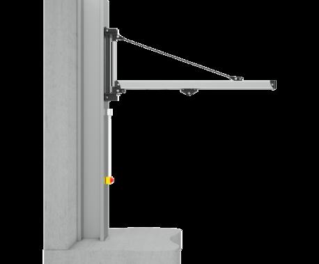 Einzelproduktfoto des Wandschwenkkrans Unilift ULW