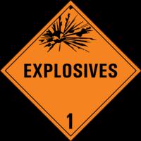 Gefahrgutklasse 1: Explosives
