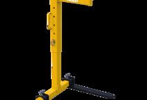 Ladegabel mit manuellem Gewichtsausgleich mit flexibler Ladehöhe
