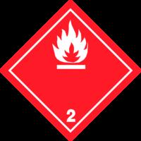 Gefahrgutklasse 2: Flammable Gas