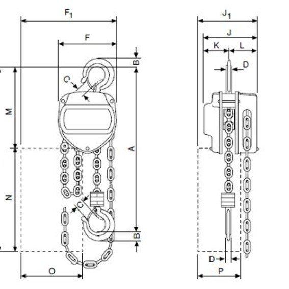 Stirnradflaschenzug VSIII | Evers GmbH