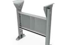 Stützen für Bandförderer und angetriebene Rollenbahnen