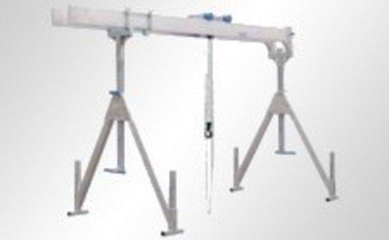 Alu-Portalkran mit Doppelträger