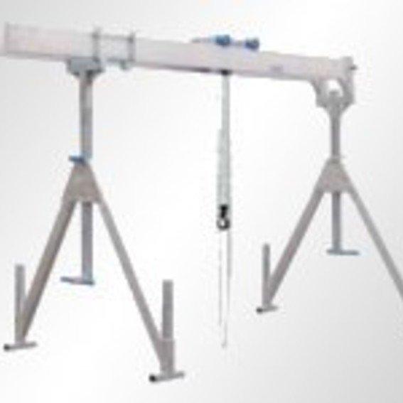 Alu-Portalkran mit Doppelträger | Evers GmbH