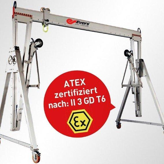 EX-Alu-Portalkran | Evers GmbH
