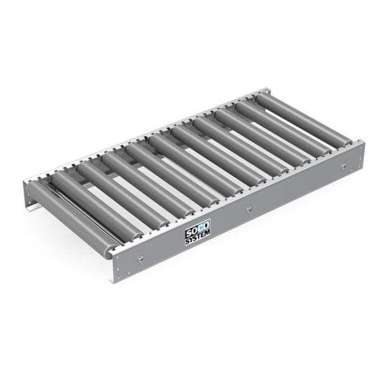 Freilaufende Rollenbahnen mit 48-mm-Kunststoffrollen | Evers GmbH