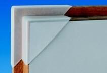 Schutzecken für Türblätter