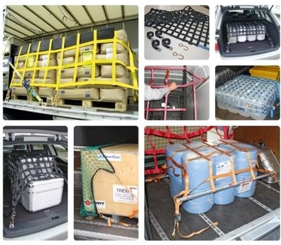 Sondernetzlösungen für die Ladungssicherung