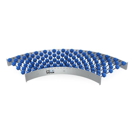 Freilaufende Kurven mit 48-mm-Einzelradachsen   Evers GmbH