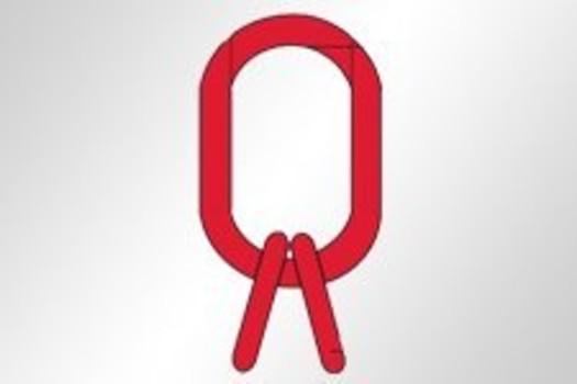 Aufhängering Typ A für 3-/4-Strangketten GK8