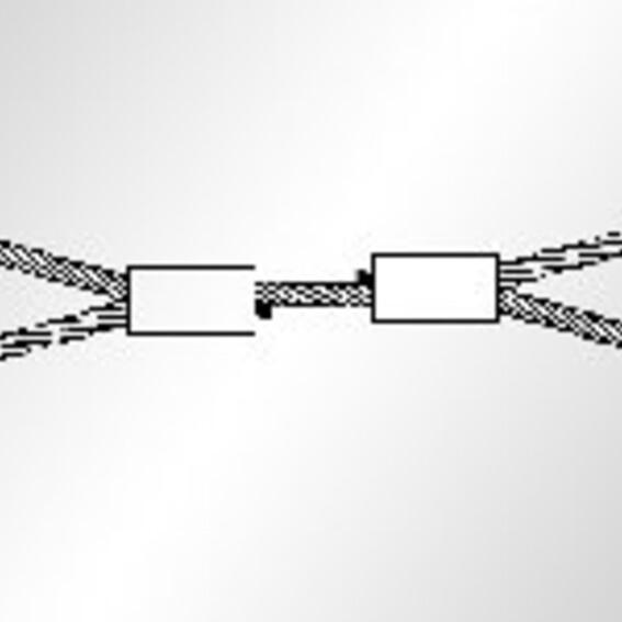 Kabelschlagstroppen mit verpressten Schlaufen | Evers GmbH