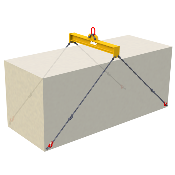 Containertraverse für 20- und 40-Fuß-Container   Evers GmbH