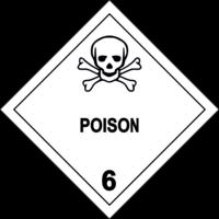 Gefahrgutklasse 6.1: Poison