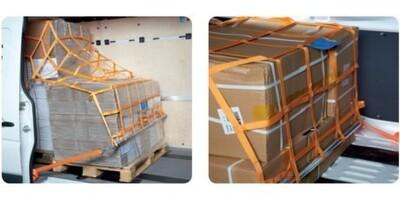 Ladungssicherungsnetze für PKW-Kastenfahrzeuge