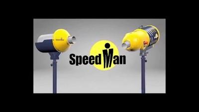 Speedman PRO bei der Anwendung