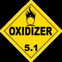 Gefahrgutklasse 5.1: Oxidizer