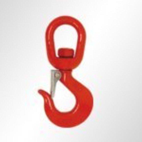 Wirbelhaken mit Sicherung in Güteklasse 8   Evers GmbH