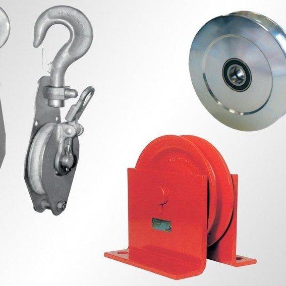 Drahtseilrollen & -böcke   Evers GmbH
