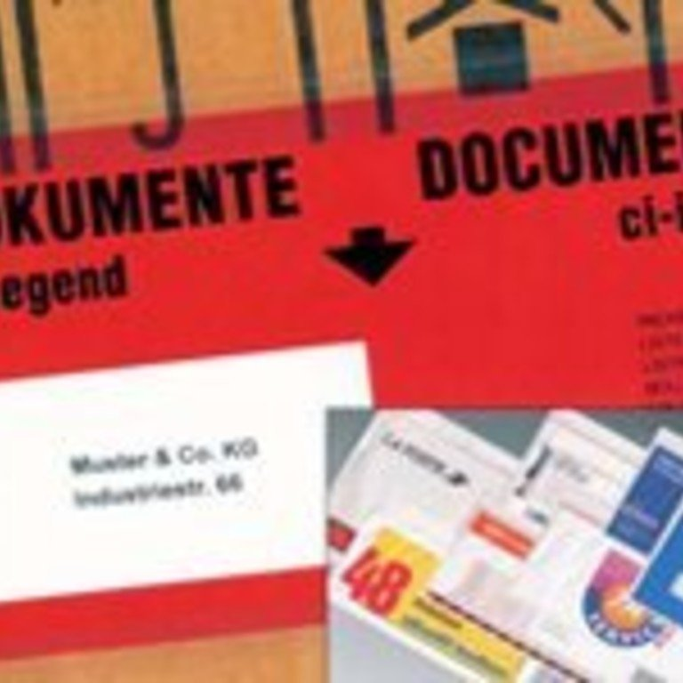 Begleitpapiertaschen & Adressenschutzfolie
