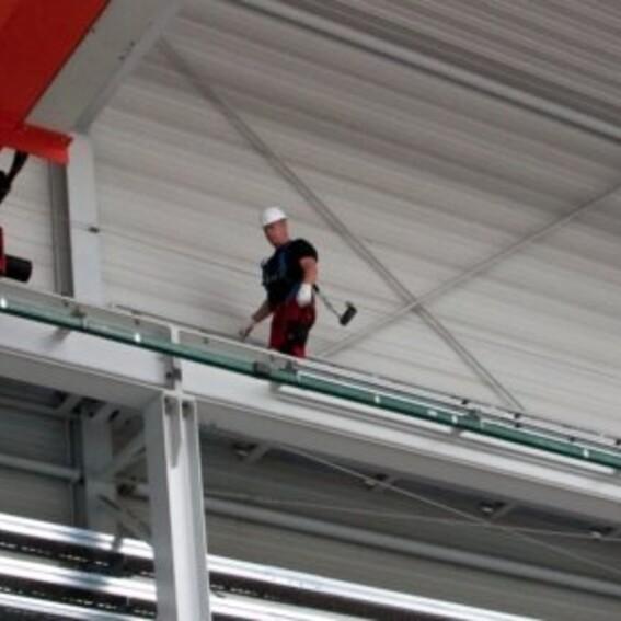 Absturzsicherung auf Ihrer Kranbahn | Evers GmbH
