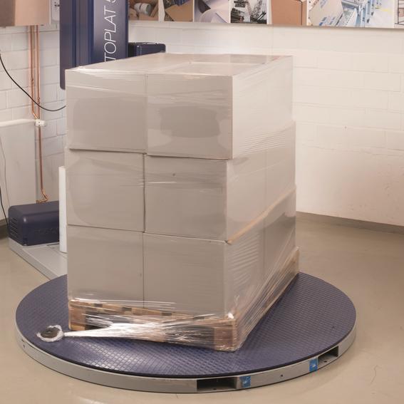 Maschinenstretchfolie mit erhöhter Festigkeit | Evers GmbH