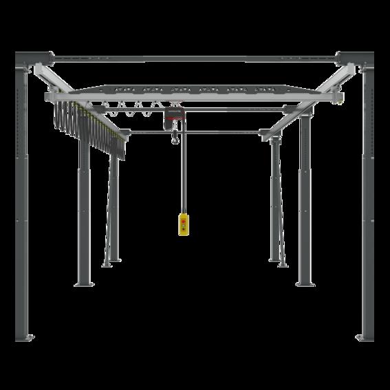 Zweischienenportalkran Ergoline | Evers GmbH
