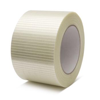 Kreuzgitterverstärktes Filamentband
