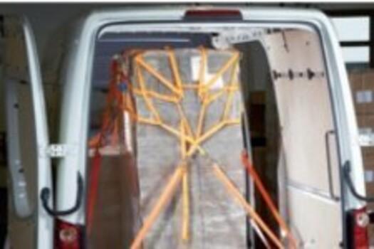 Ladungssicherungsnetze für KEP- &Pritschenfahrzeuge