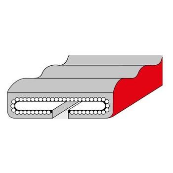 Secutex-Schutzschlauch secuwave für PSC-Hebebänder