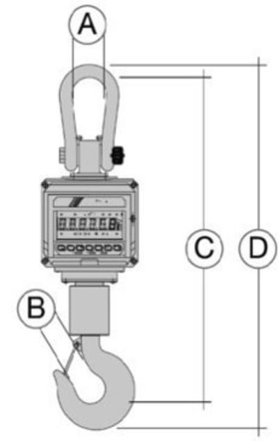 Elektronische Kranwaage EHTS