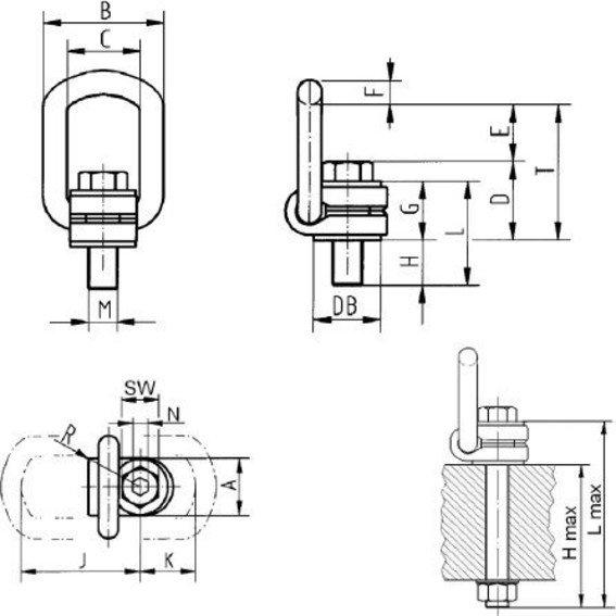 RUD ICE-Lastbock-Gewinde, ICE | Evers GmbH