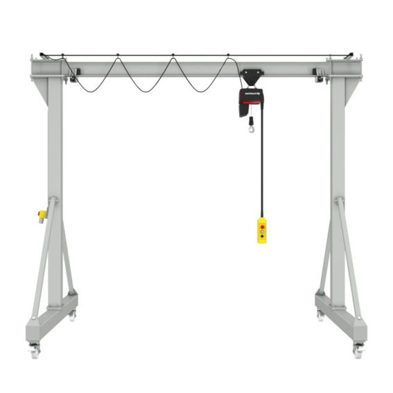 Fahrbarer Bockkran PA | Evers GmbH
