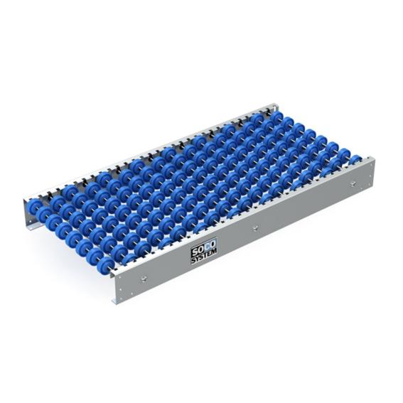 Freilaufende Rollenbahnen mit 48-mm-Doppelradachsen | Evers GmbH