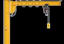 Einzelproduktfoto des Säulenschwenkkrans Assistent AS