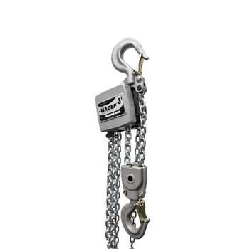 Aluminium-Stirnradflaschenzug 10/19