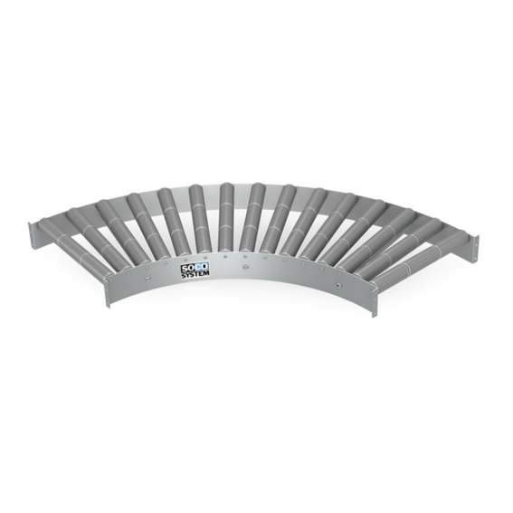 Freilaufende Kurven mit 3-teiligen 48-mm-Kunststoffrollen   Evers GmbH