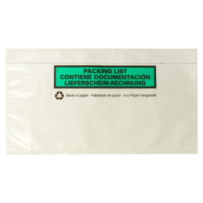 neutrale Evers-Begleitpapiertasche aus Papier