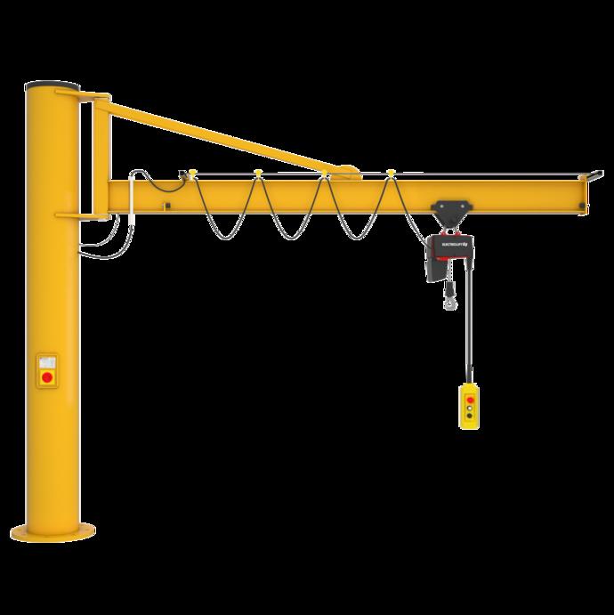 Einzelproduktfoto des Säulenschwenkkrans Praktikus PS