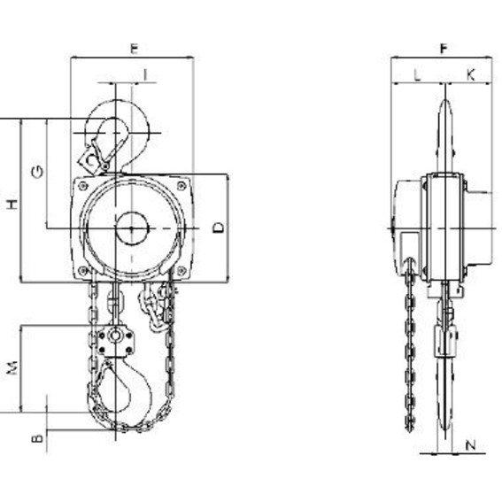 Stirnradflaschenzug Lift 360 | Evers GmbH
