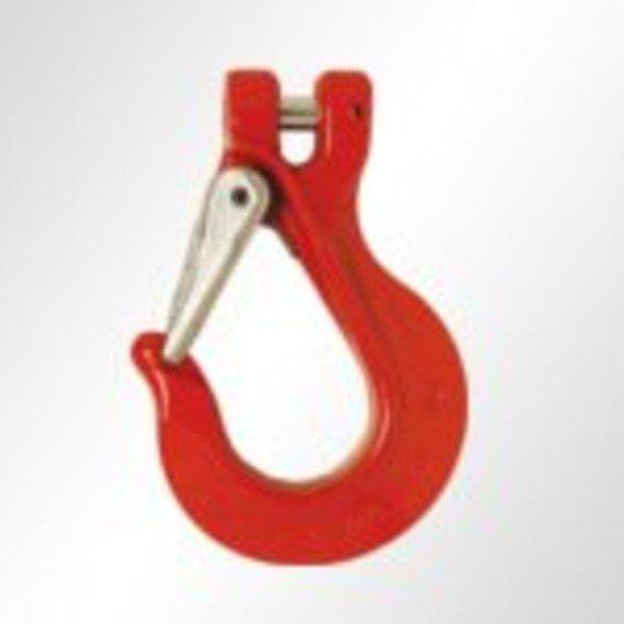 Gabelkopfhaken mit Sicherung in Güteklasse 8 | Evers GmbH