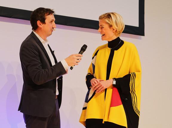 Interview nach Auszeichnung