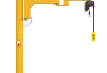 Einzelproduktfoto des Säulenschwenkkrans Boy BS