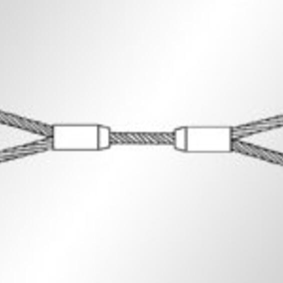 1-Strang-Anschlagseile mit flämischen Augen | Evers GmbH