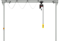 Einzelproduktfoto des Einschienenportalkrans P100