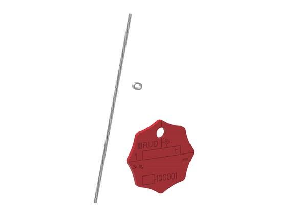 Kennzeichnungsanhänger KZA für Güteklasse 8