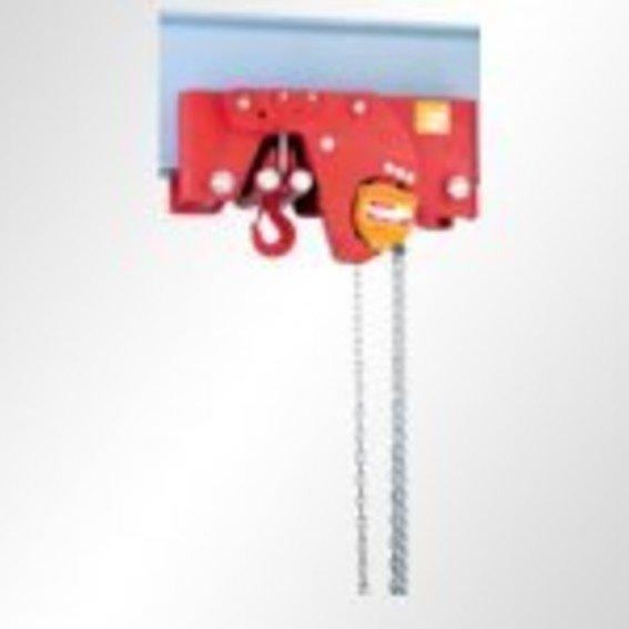 Stirnradflaschenzug als Einschienenfahrwerk 29/12 HH   Evers GmbH