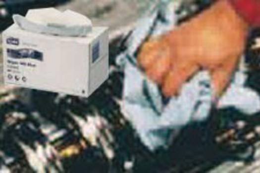 Papier-Reinigungstücher
