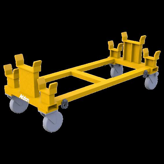 Transportwagen für Balken- und H-Traverse   Evers GmbH