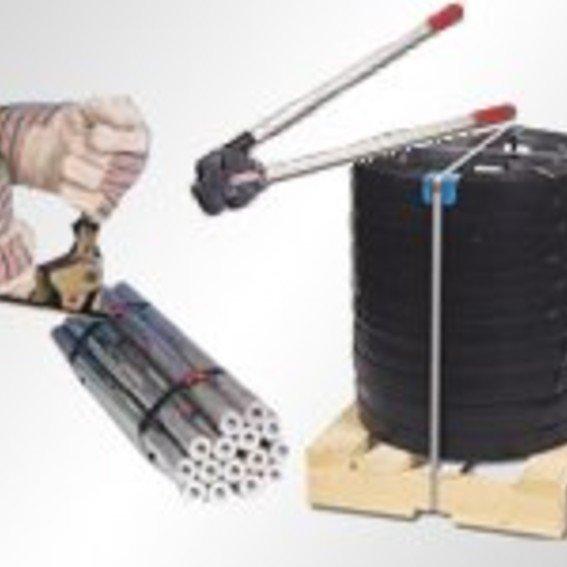 Umreifen mit Stahlband   Evers GmbH